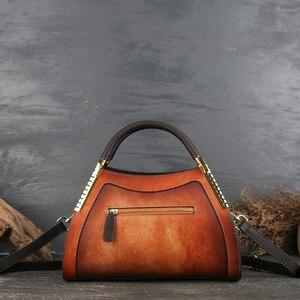 Image 4 - حقائب يد نسائية كلاسيكية من جلد طبيعي من جوهنيتشر 2020 حقائب يد نسائية عصرية غير رسمية حمل على الكتف أو عبر الجسم