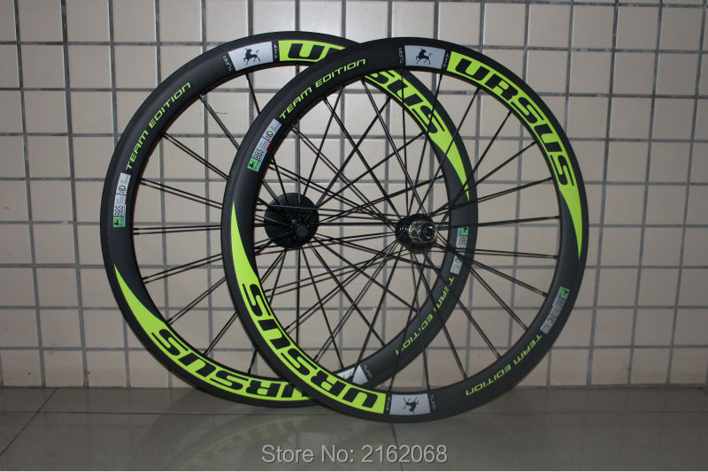 Newest green 700C 50mm clincher rims Road bicycle aero 3K/UD/12K full carbon fibre bike wheelsets 20.5/23/25mm width Free ship carbon aero rims 700c road bike 40 50 56 86 mm depth 27mm width bicycle rims carbon wheels clincher ud glossy matte