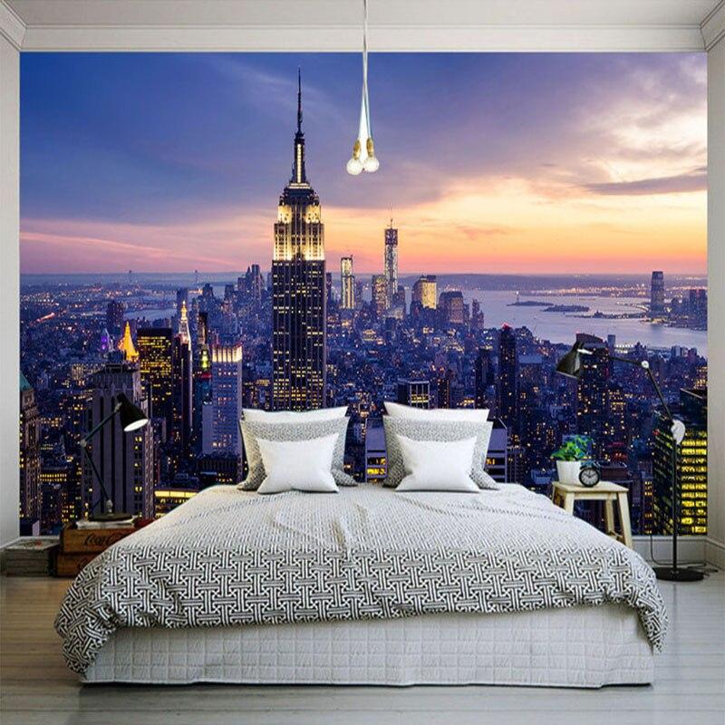 Aliexpress.com : Buy Photo Wallpaper Modern New York City