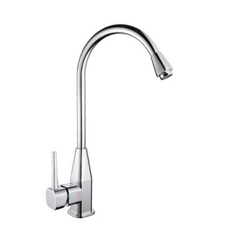 Kitchen Faucet Cold And Hot Water Faucet Classic Single Holder Single Hole Stainless Steel Kitchen Faucets Basin#0