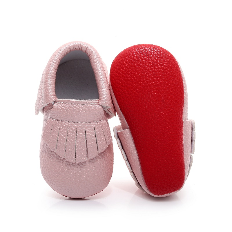 Pajamasea Girls Flat Baby Moccasin Slip On PU Leather Toddler Boy and Girl Kids Sneakers Loafers