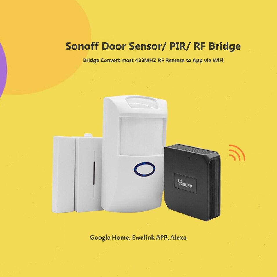 Sonoff RF Bridge 433Mhz Wifi Wireless Signal Converter Switc