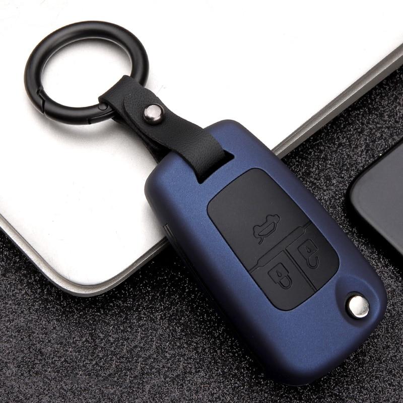 High Quality Mature Carbon Fiber Matte Car Key Case Cover For Buick Chevrolet Cruze Opel Vauxhall Mokka Encore FlipAuto KeyShell