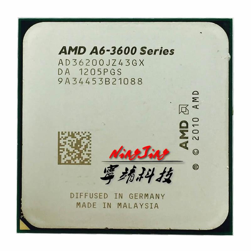 Amd A6 Series A6 3620 A6 3620 2 5 Ghz Triple Core Cpu Processor Ad3620ojz43gx Socket Fm1 Socket Fm1 Cpu Processorprocessor Fm1 Aliexpress