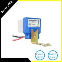 Automatic Auto On Off Street Light Switch Photo Control Sensor for AC 220V  Sensor Switch Automatic Voltage Regulator 220v