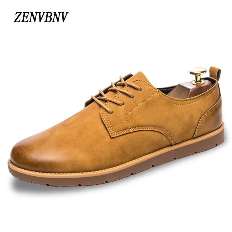 ZENVBNV Brand Handmade Breathable Men's Oxford Shoes Top Quality Dress Shoes Men Flats Fashion Genuine Leather Casual Shoes Men декоративные свечи