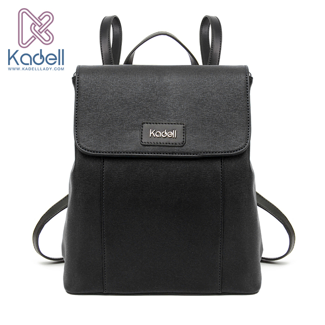 Kadell Brand Luxury Vintage 2017 Women Backpacks for Teenage Girls High Quality PU Leather Preppy School Bags Female Bagpack