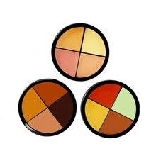 2017 New Arrive Professional Concealer Facial Face Cream Care Camouflage Makeup Base Palette Set Nude D