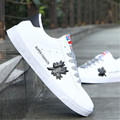Spring autumn Boys sneakers for men skateboarding shoes Sneakers men Skate shoes flat sport shoes White