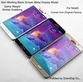 Tela colorida premium falso não-trabalho manequim de exibição modelo de metal case para samsung galaxy note5 smartphone telefone móvel celular