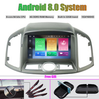 Octa Core Android 8.0 CAR DVD Player for CHEVROLET CAPTIVA 2012 2013 Auto RADIO STEREO GPS navigation