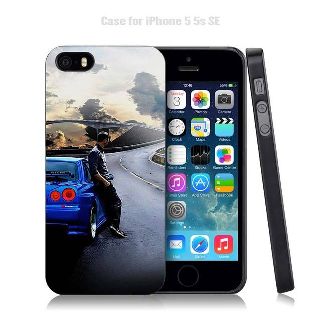 The Fast and the Furious Case Cover Shell for iPhone Apple 4 4s 5 5s SE 5c 6 6s 7 Plus