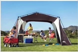 Tente pliante extérieure auvent plage moustique anti-UV parasol auvent automatique tente auvent patio extérieur auvent