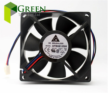 5PCS Original  8025 80MM 8cm 80*80*25mm violent fan  Cooling fan 12V 0.51A TELTA AFB0812SH-FOO  with 3pin  стоимость