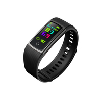 Color Screen Sport Fitness Bracelet Pedometer Tracker Heart Rate Blood Pressure Monitor Health Smart Band Stopwatch