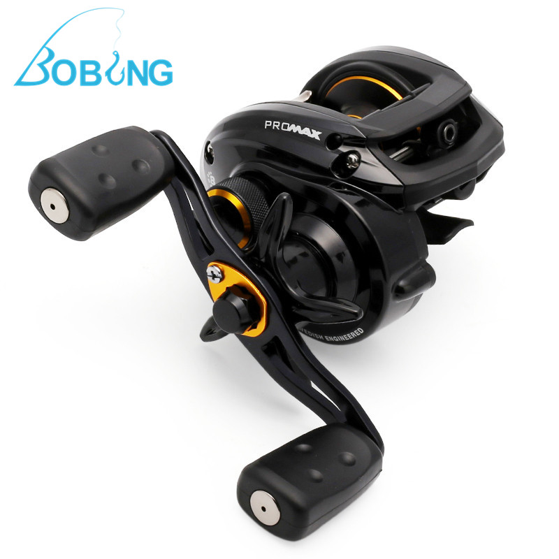 Pro Max3 PMAX3 7.1:1 Right Left Hand Bait Casting Fishing Reel 8BB 207g Drum Reel Pool Sea River Winding Spool Carrete Tackle free shipping trulinoya 10 1 bb 6 3 1 baitcasting fishing reel bait casting baitcast caster right or left hand new dw1000