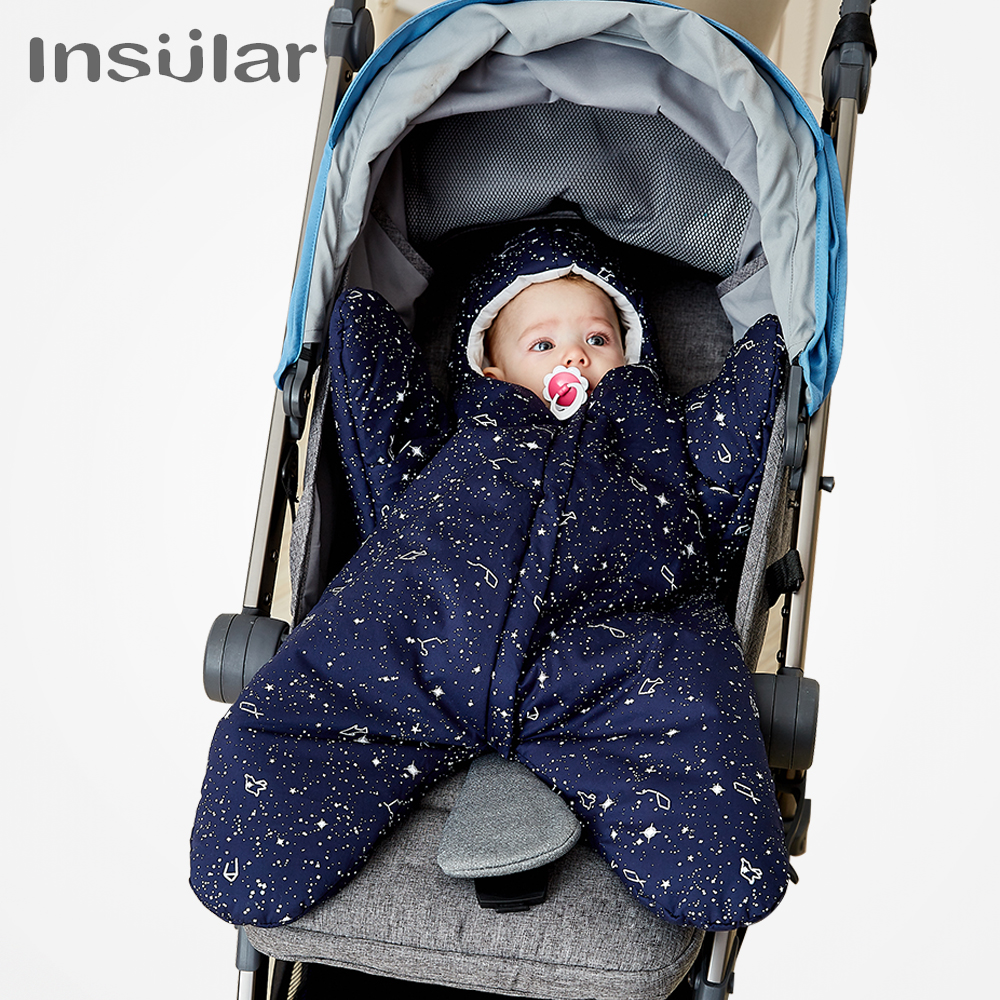 Nieuwe aankomst gratis verzending Star Babyslaapzak Winter Babyslaap - Beddegoed - Foto 3