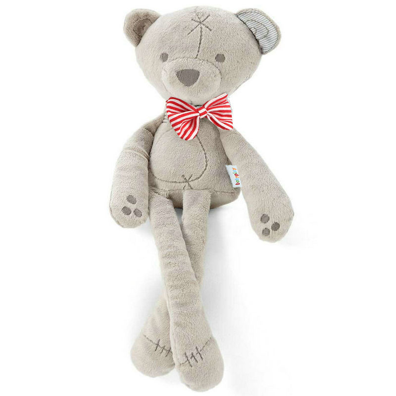 Mamas Papas Plush Toy Stuffed Doll Soft Bear Baby Gift Sleep Calm Bed Story Baby Toys For Wholesale недорого