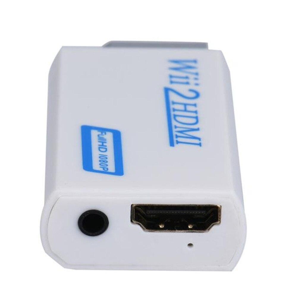 2018 Новинка Высокое качество Full HD HDMI 1080P конвертер адаптер с 3,5 мм аудиовыход для Wii 2 белый дропшиппинг