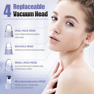 Image 2 - Blackhead Remover Vacuum Tool Black Spots Pore Vacuum Suction Tool Acne Point Black Head Remove Facial Skin Care Clean Tools