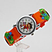 ot Free Shipping Wholesale Cute new style Watch,3D Cartoon Quartz 10pcs/set Promotion children Digital for Xmas