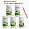 5 бутылок KangXin высокое кровяное давление гипертония чистый кровеносных сосудов капсулы для чистки сосудов. давление,холестерин,сахар в крови,аритмия,тахикардия