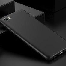 Чехол для Xiami Xiaomi Mi5, 5,15 дюйма, полностью матовый Силиконовый мягкий чехол для Xiomi Xiaomi Mi5 Mi 5, чехол для задней панели телефона