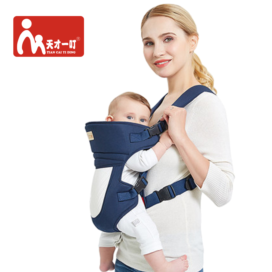 Ergonomic Baby Carrier Wrap Comfortable Baby Sling Carry Newborns Kangaroo All Position And Season Children Cotton Backpack