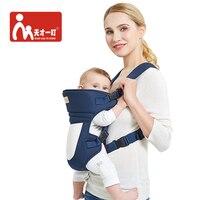 Ergonomique Porte-Bébé Wrap Confortable Bébé Sling Carry Nouveau-nés  Kangourou Toutes Les Positions 11d253a959d