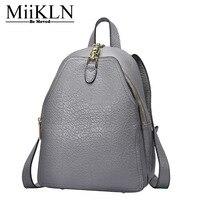 Miikln Пояса из натуральной кожи Для женщин рюкзак, Дизайн телячья кожа дамы рюкзак Сумки
