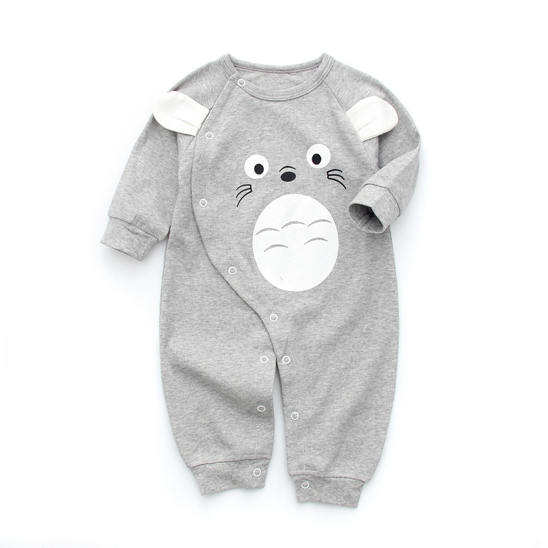Toddler Baby Rompers Autumn Infant Jumpsuits Boy Clothing Sets Newborn Baby Clothes Spring Cotton Baby Girl Clothing strip baby rompers long sleeve baby boy clothing jumpsuits children autumn clothing set newborn baby clothes cotton baby rompers