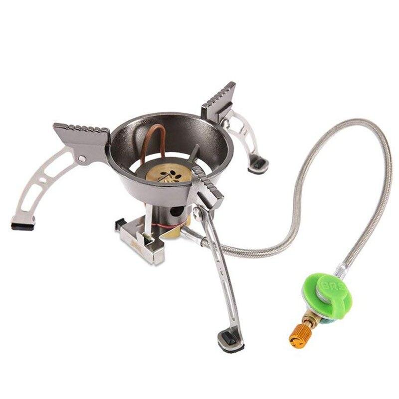 BRS-11 Coupe-Vent en plein air camping poêle brûleur à gaz 242g cuisinière Escalade pique-nique barbecue randonnée équipement titanium cuisinière à gaz