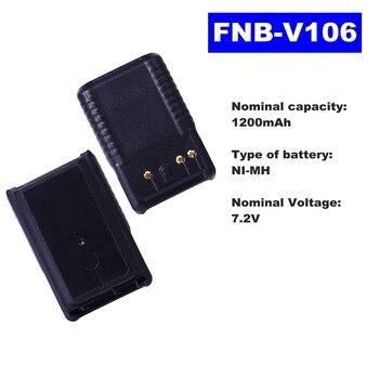 цена на 7.2V 1200mAh NI-MH Radio Battery FNB-V106 For Vertex Standard Walkie Talkie VX231/228/230 Two Way Radio