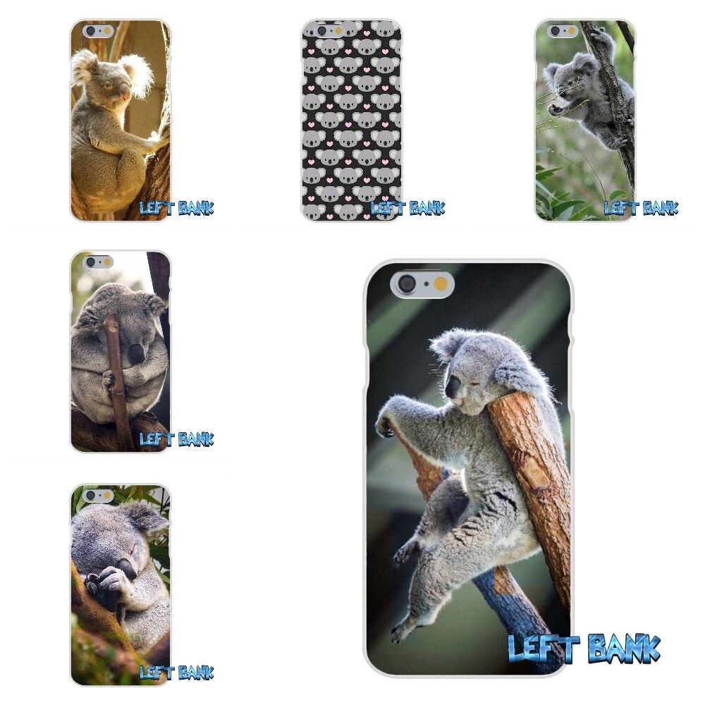 Животного милый коала кремния мягкий чехол для телефона для Samsung Galaxy A3 A5 A7 J1 J2 J3 J5 J7 2015 2016 2017