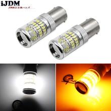 IJDM ampoules de remplacement pour BMW, clignotants avant ou arrière, pour BMW séries F30 F32 3, BAU15S LED 7507 PY21W Canbus LED
