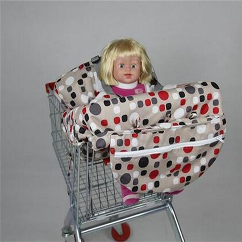 2019 Popular Fashion High Quanlity Baby Shopping Cart Cover Anti Dirty Baby Safety Seats Striped Nylon For Outdoor Kids Chair Mother & Kids Activity & Gear
