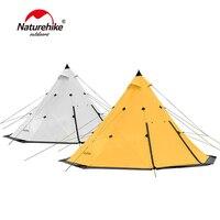 Naturehike большая семейная палатка Пирамида водостойкая наружная походная палатка для 3 8 человек