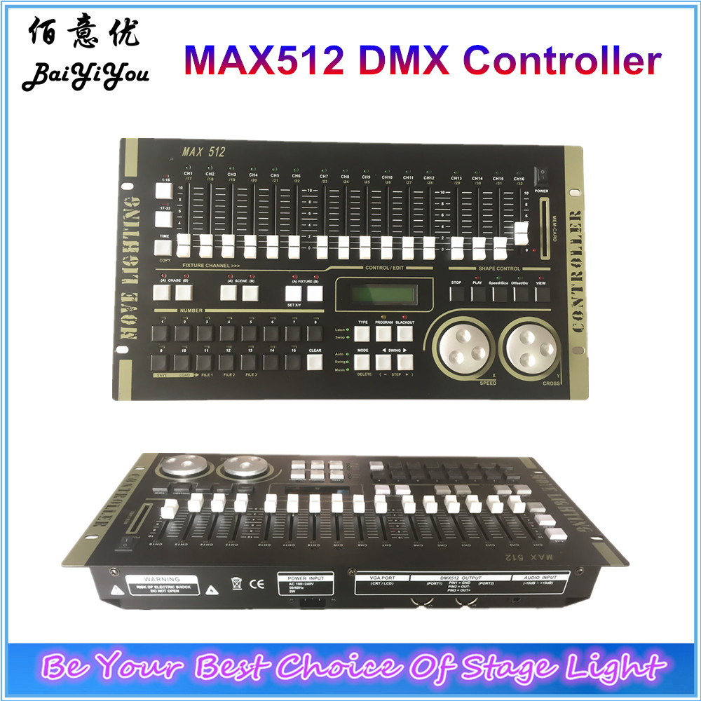 US $284 05 5% OFF|New MAX512 DMX 512 Stage DJ Lighting Controller Moving  Head Par Lighting Controller-in Stage Lighting Effect from Lights &  Lighting