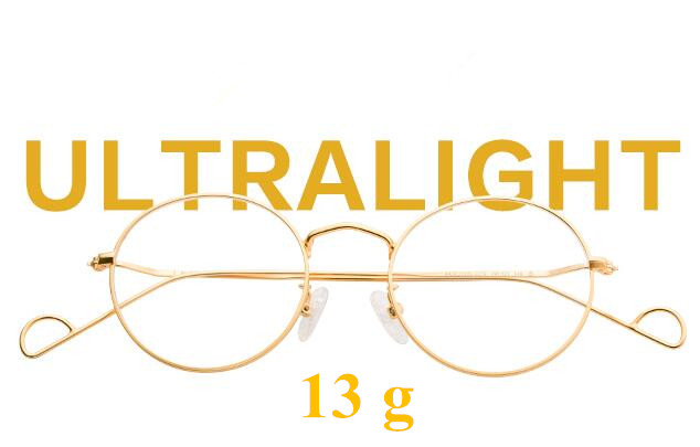 8b3c99164850 Vintage Oval Round Japan Hand Made Metal Gold Wire Eyeglass Frames ...