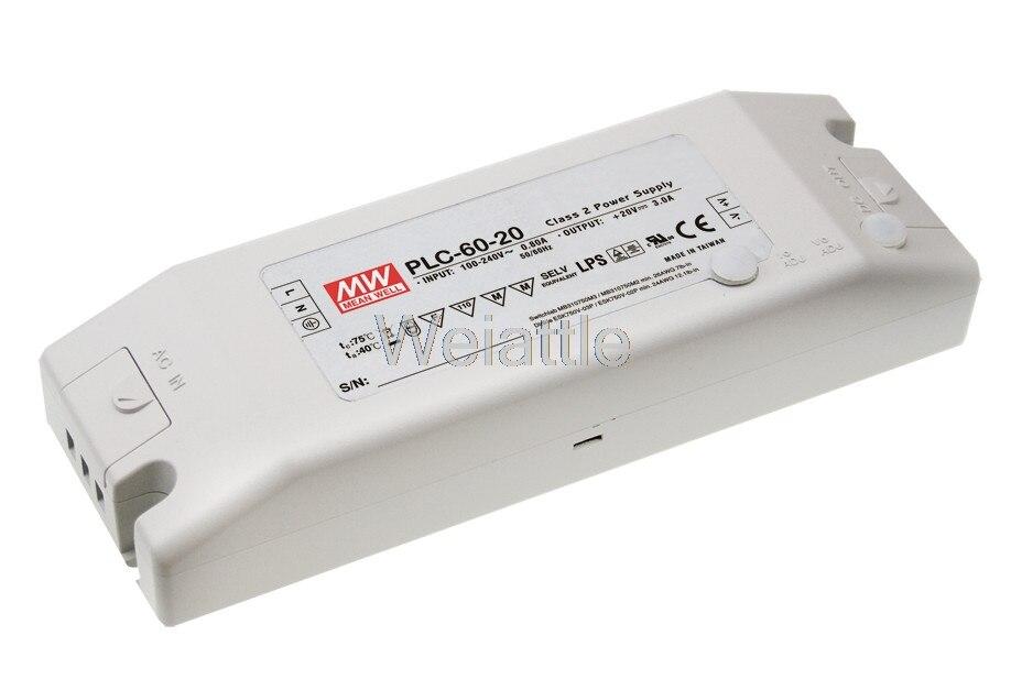цена на [Cheneng]MEAN WELL original PLC-60-12 12V 5A meanwell PLC-60 12V 60W Single Output LED Power Supply