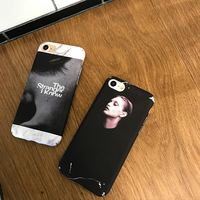 SZYHOME Phone Cases For iPhone 6 6s 7 Plus Case Luxury Girl Body Black Plastic For Apple iPhone 7 Plus Mobile Phone Cover Case