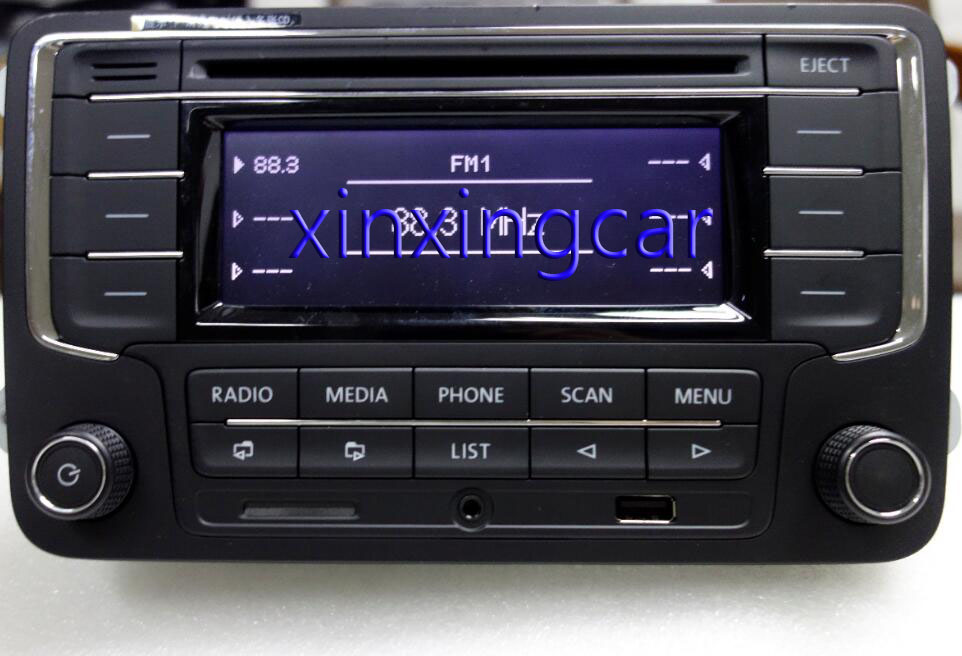 AIDUAUTO RCN210 Plus Bluetooth <font><b>MP3</b></font> USB-<font><b>Player</b></font> CD <font><b>MP3</b></font> Radio Verwenden für <font><b>Golf</b></font> 5 <font><b>6</b></font> Jetta Mk5 MK6 Passat B6 CC B7 image