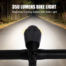 350 LM 3 mode MTB Bicycle Light Intelligent Portabl