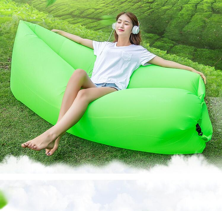 10PCS/LOT Fast Inflatable Air Sofa Lazy Bag Laybag Lounger Chair Sleep Couch Saco de dormir lazy sofa wholesale air ounger bag camping for beach laybag saco de dormir acampamento inflatable kaisr laybag z126