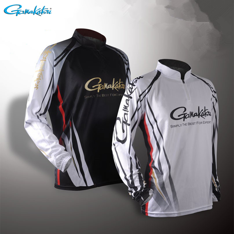 Gamakatsu Clothing 2019 Long Sleeve Fishing Clothes Outdoor Sprots Sunscreen Breathable Ultrathin Summer Anti-UV Fishing Shirt