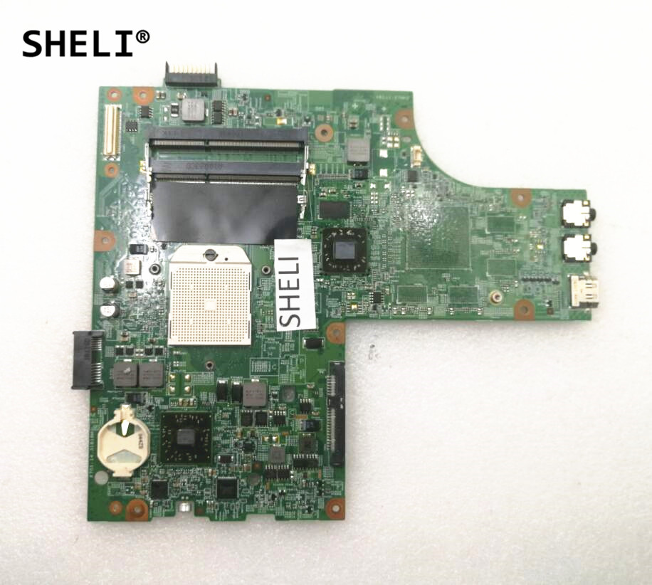 SHELI For DELL M5010 Motherboard Integrated YP9NP 0YP9NP CN-0YP9NP cn 0yp9np laptop motherboard for dell inspiron 15r m5010 yp9np 0yp9np 09913 1 dg15 48 4hh06 011 ati hd4200 ddr3 mainboard