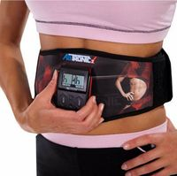High Quality Women Men Ab Tronic X2 Dual Fitness Belt Belt Slimming Belt Vibration Belt For