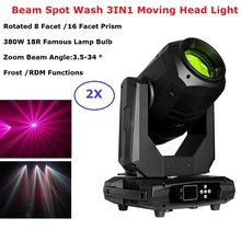 380W 18R Lyre Moving Head Light Beam Spot Wash 3IN1 Moving Head Stage Light Party Dj Laser Light Disco Night Club Party Machine 10r 280w beam spot wash 10r sharpy moving head beam spot wash 280w rgb 3in1 moving head beam spot light