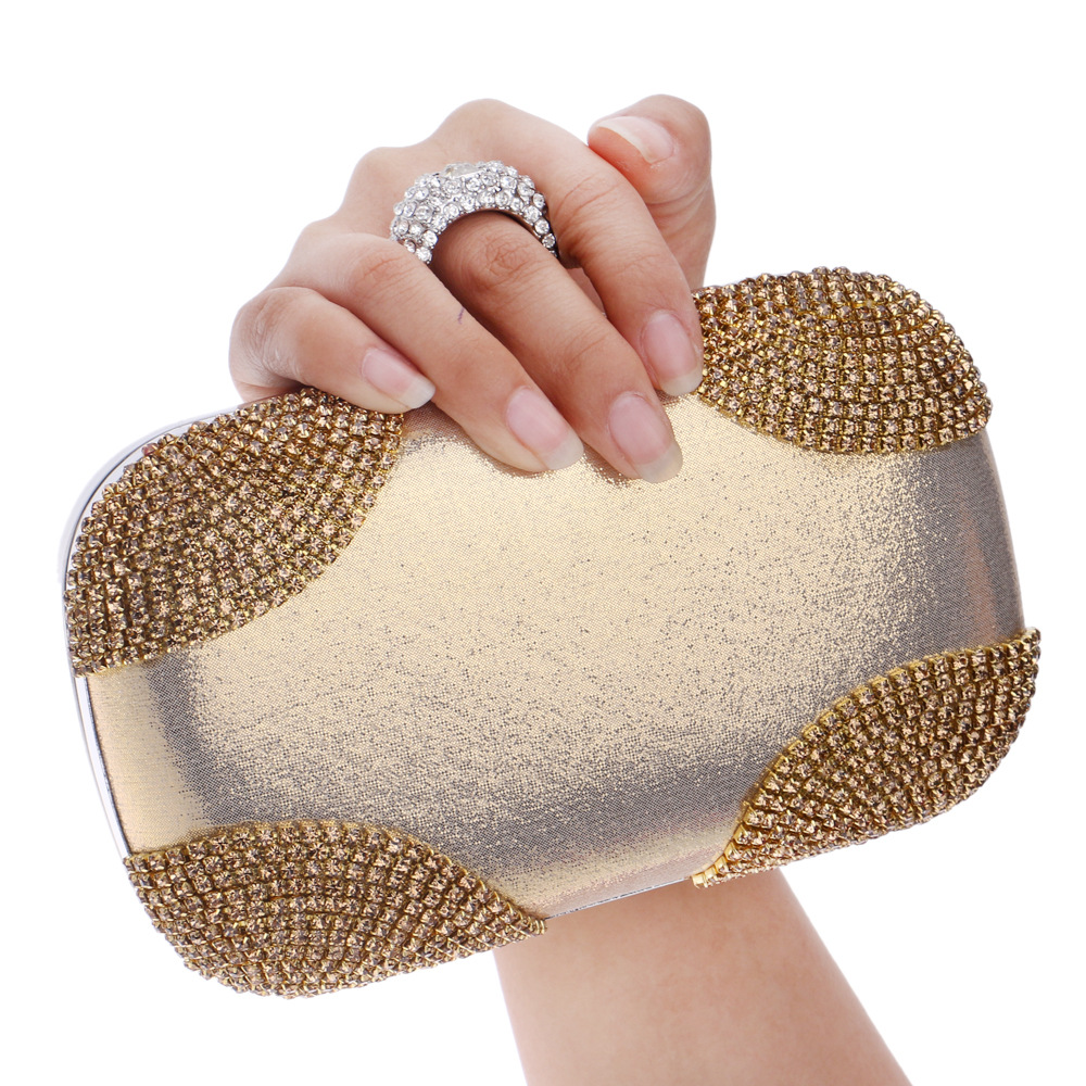 Fashion Flap Luxury Handbags Diamonds font b Bridesmaid b font Dress Exquisite Women Evening font b
