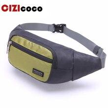 цена на Men Waist Pack Bag Casual Women Travel Phone Belt Bag Pouch New Canvas Shoulder Fanny Pack Bag Money Hip Pack Bag